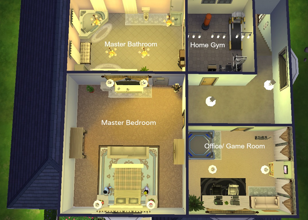 how to build a second floor sims 4